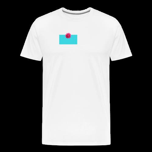 flower - Premium T-skjorte for menn