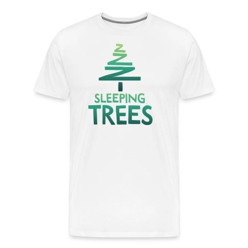 SleepingTrees Colour LightBackground png - Men's Premium T-Shirt