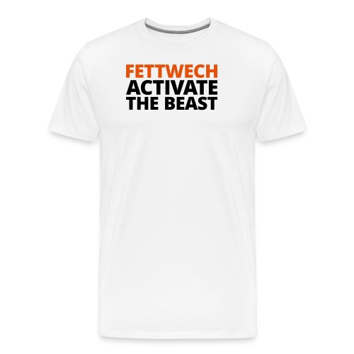 Fettwech Active the Beast - Männer Premium T-Shirt