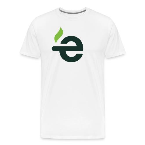 E logo - Mannen Premium T-shirt