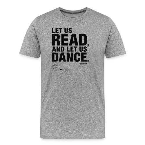 LET US READ | Bookish Merch - Männer Premium T-Shirt