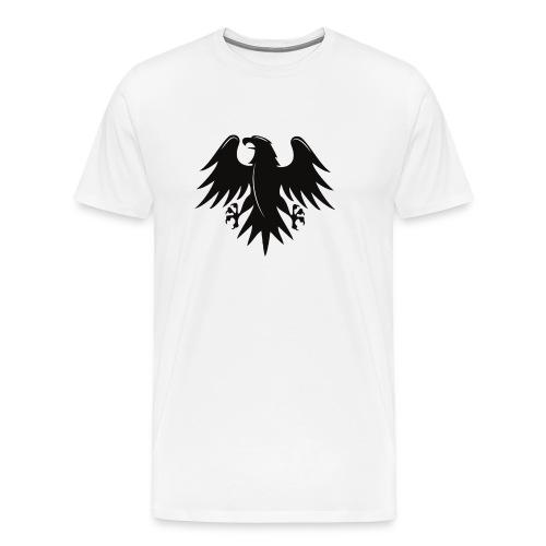Aigle noir motif - T-shirt Premium Homme