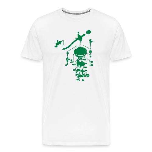 tonearm05 - Mannen Premium T-shirt