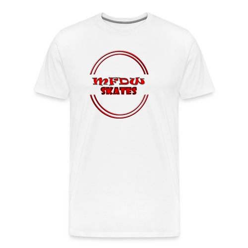 mfdw skates trasparent SH - Men's Premium T-Shirt