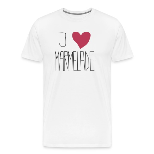 Marmeladenliebe - Männer Premium T-Shirt