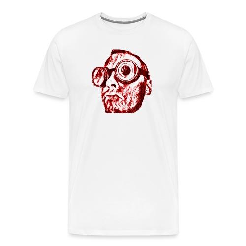 Face Tegner Red Grande - Herre premium T-shirt