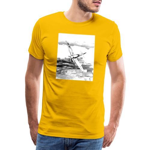 Fly R&G - Maglietta Premium da uomo