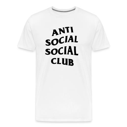 anti social social club - Men's Premium T-Shirt