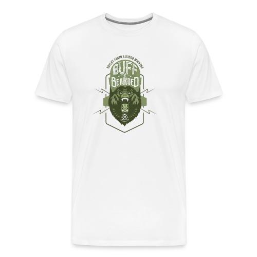 HVYW8 Buff and Bear-ded - Men's Premium T-Shirt