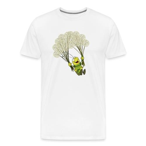 Männer T-Shirt - Georg der Flieger - Männer Premium T-Shirt