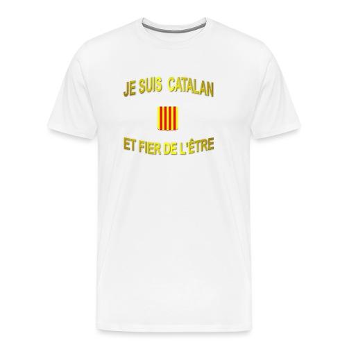 Dessous de verre à l'emblème du PAYS CATALAN - T-shirt Premium Homme