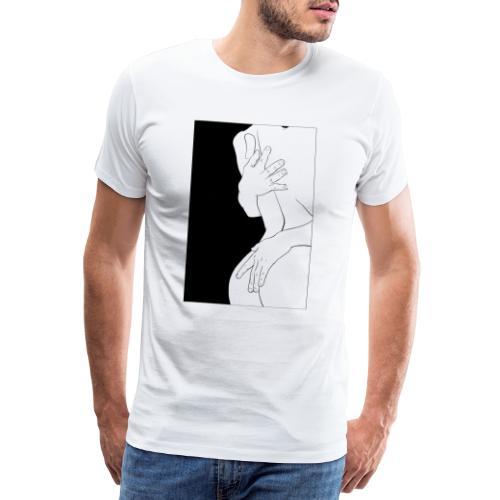 Abbraccio - Maglietta Premium da uomo