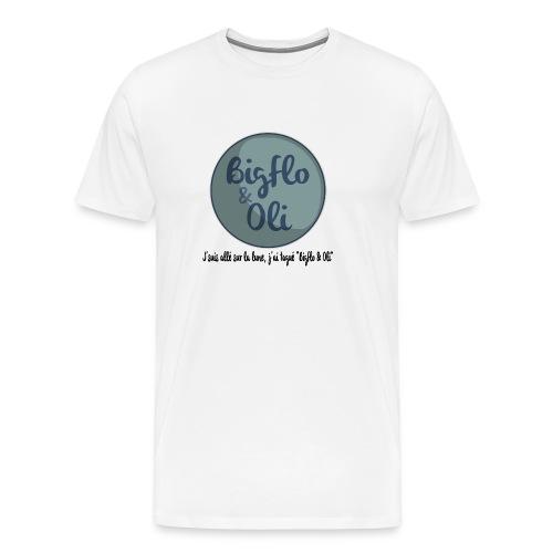 Bigflo et oli lune png - T-shirt Premium Homme