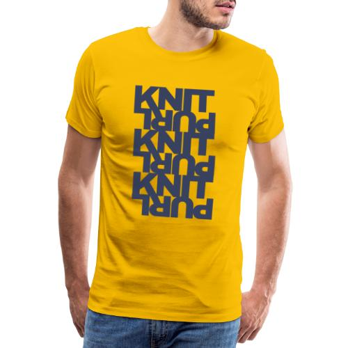 St, dark - Men's Premium T-Shirt