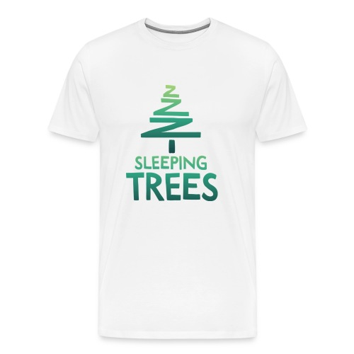 SleepingTrees Colour LightBackground png - Men's Premium T-Shirt