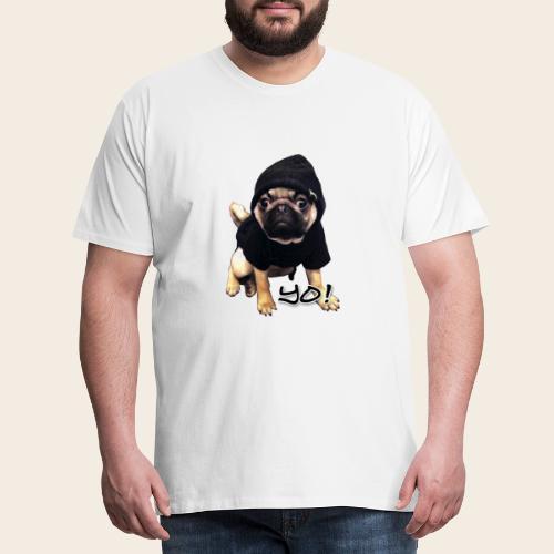 yo_mops_3 - Männer Premium T-Shirt