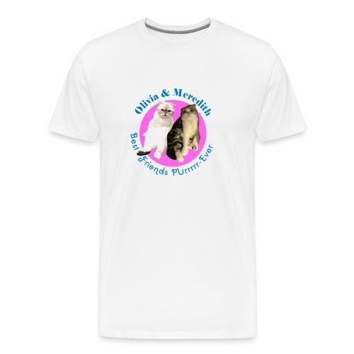 OLIVIA AND MEREDITH - Men's Premium T-Shirt