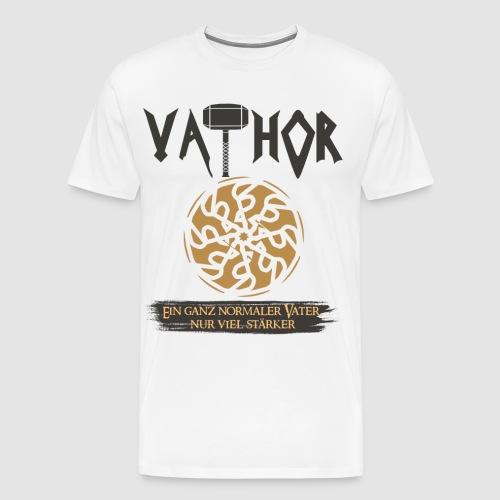 Vathor Vater Vatertag Geschenkidee - Männer Premium T-Shirt
