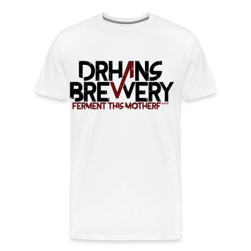 DrHans Brewery Logo - Premium-T-shirt herr