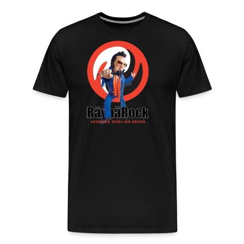 Räyhärock valkoinen - Miesten premium t-paita