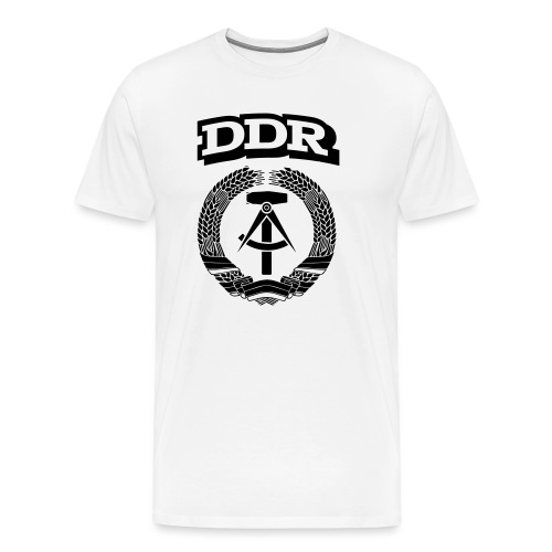 DDR T-paita - Miesten premium t-paita
