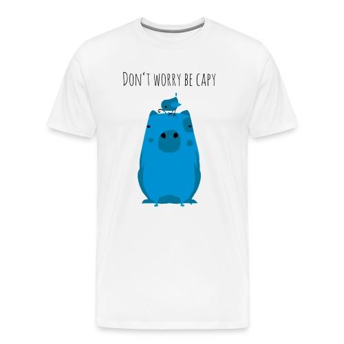 Wasserschwein Spruch - Männer Premium T-Shirt