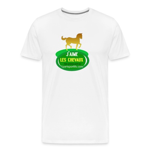 logo1parisportifs - T-shirt Premium Homme