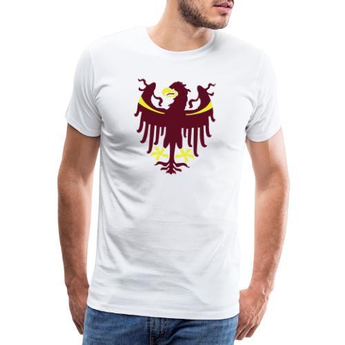 Wappen des Landes Südtirol - Männer Premium T-Shirt