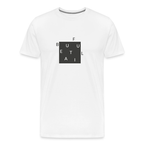 Beautiful Minimal - Hippster - Männer Premium T-Shirt