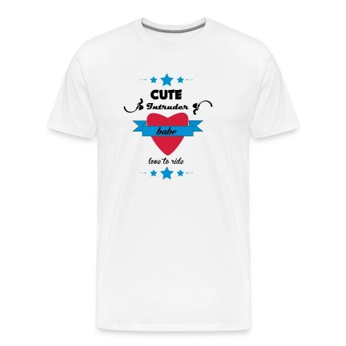 intruder_babe - Premium-T-shirt herr