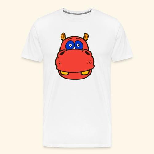 Flusspferd - Männer Premium T-Shirt