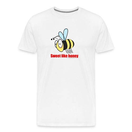 Sweet like honey - Biene - Männer Premium T-Shirt
