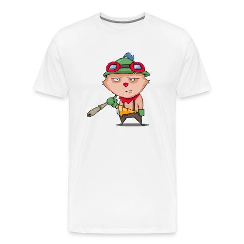 teetoalone - Men's Premium T-Shirt