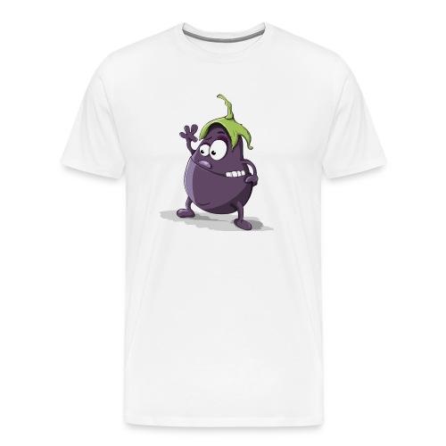 Aubergine - Männer Premium T-Shirt