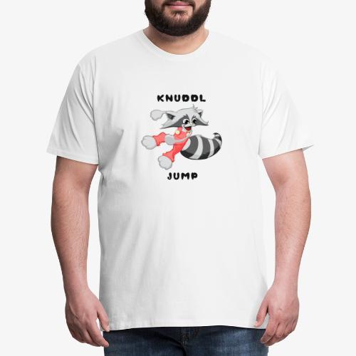 KNUDDL JUMP - Männer Premium T-Shirt