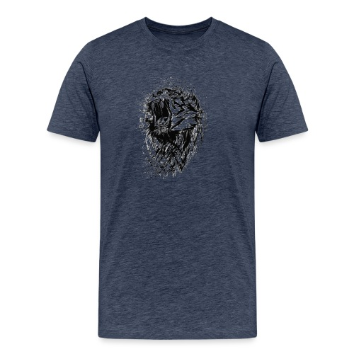villikissa kuva - Miesten premium t-paita
