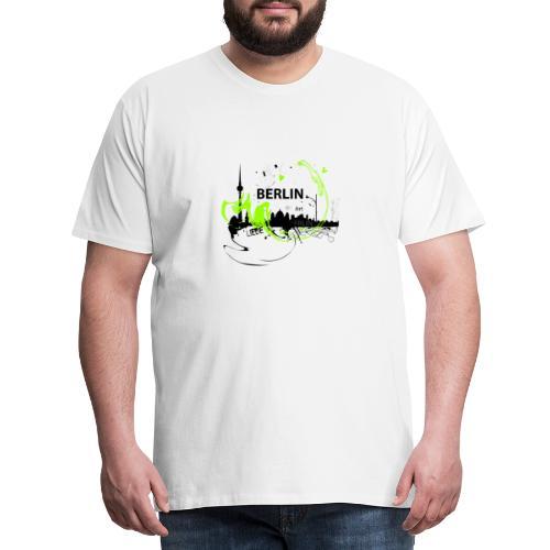I love Berlin Designer T Shirt - Männer Premium T-Shirt
