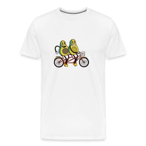 Bicicleta de aguacate - Camiseta premium hombre