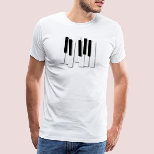 Klaviatur - Premium-T-shirt herr