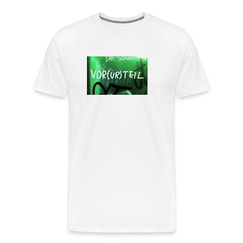 Vorurteil - Männer Premium T-Shirt