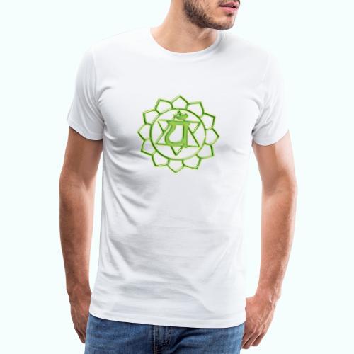 HERZCHAKRA ANAHATA 4. CHAKRA - Männer Premium T-Shirt