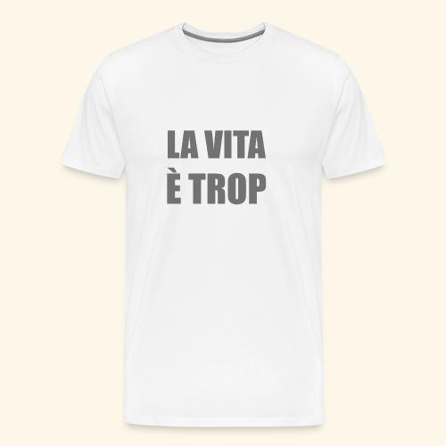LA vita1 - Maglietta Premium da uomo
