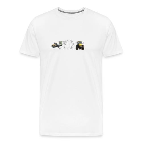 JCB Traktoren - Männer Premium T-Shirt