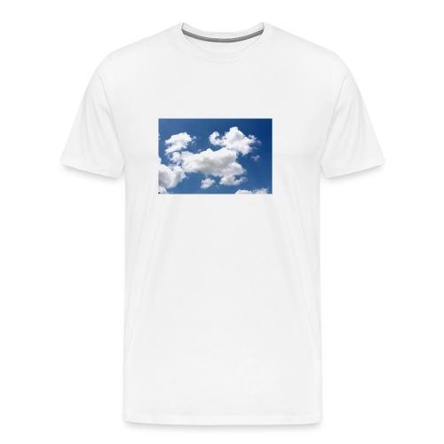 air atmosphere background 479333 jpg - Men's Premium T-Shirt