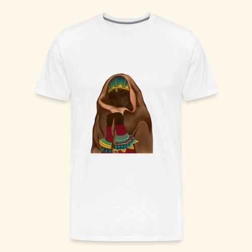 Femme bijou voile - T-shirt Premium Homme