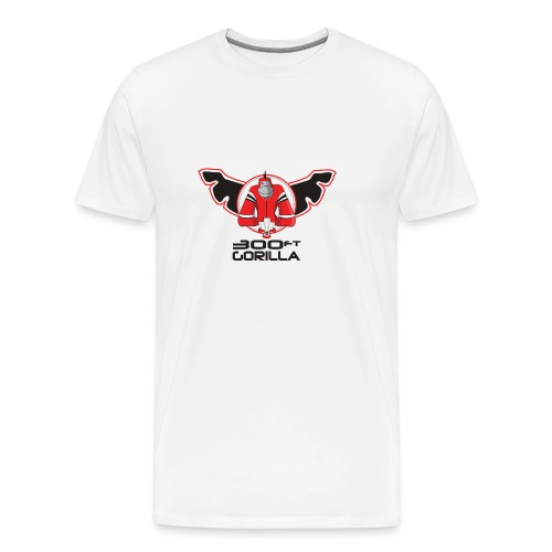 300ft Gorilla Logo T Shirt - colour - Men's Premium T-Shirt