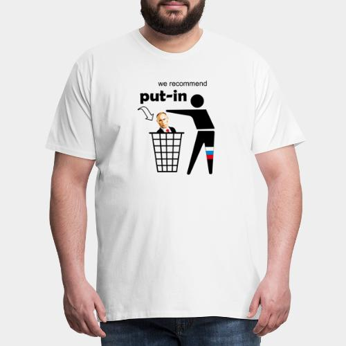 GHB Put in for recycling 190320182 - Männer Premium T-Shirt