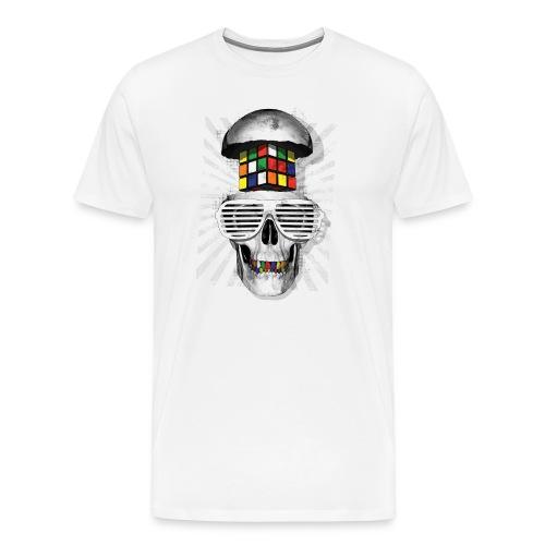Rubik's Skull Cube - Premium-T-shirt herr