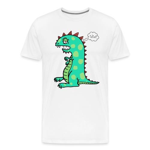 squishy idiot - Men's Premium T-Shirt