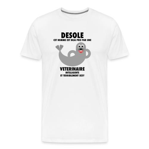 Vétérinaire Sexy - T-shirt Premium Homme